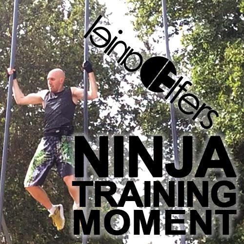 Ninja Warrior Training Moment Video Sept 8