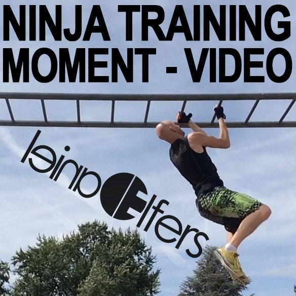Ninja Training Moment Video Grip Strength